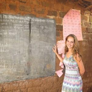 Dianne voor de klas (1)