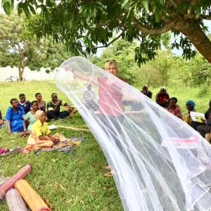 Moskitonetze für bedürftige Familien