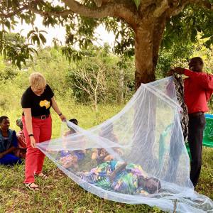 Moskitonetze gegen Malaria